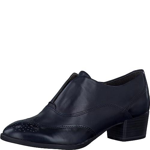 2017 Tamaris Halbschuhe Halbschuhe Schuhe Boots Navy Leder 1