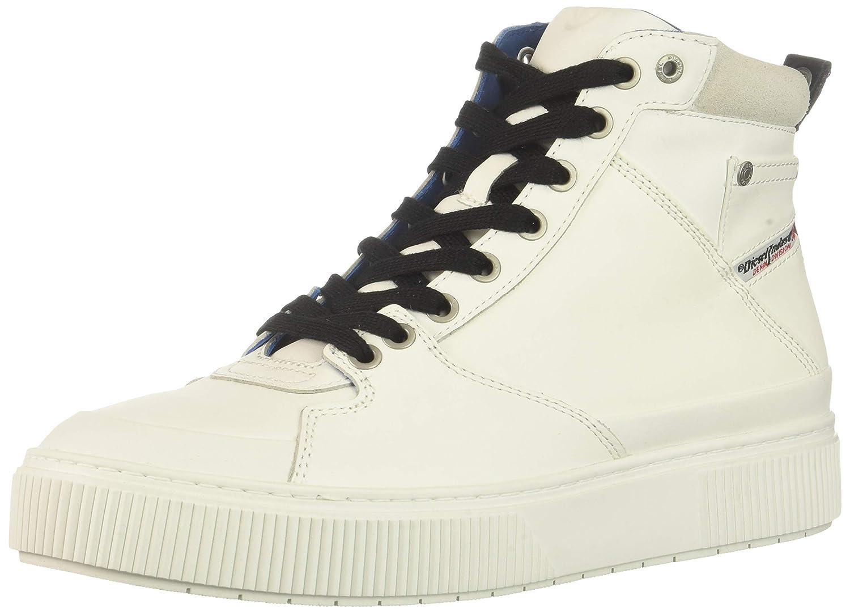 Diesel Men's S-Danny MC MID Sneaker 7.5 7.5 7.5 M US|White B0793C3BQP cb9546