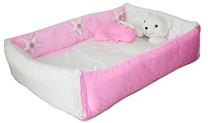 acf3394870829 Buy Amardeep Baby Bedding Set Cum Play Mat (Pink) Online at Low ...