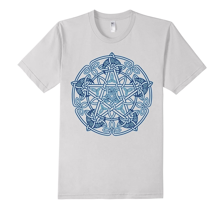 Groacsse Moon Pentacle Pentagram T-Shirt