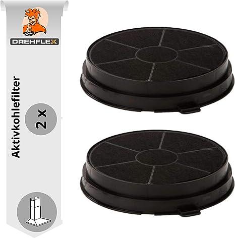 2 Aktivkohlefilter Filter für AEG Electrolux Faber Dunstabgzugshaube 50290659007