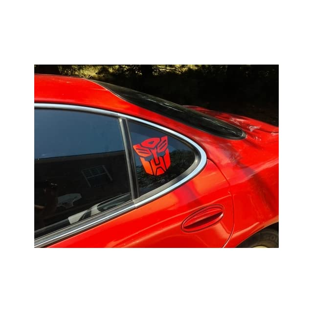 Transformers Autobot Vinyl Decal Sticker   Red   6 inch size by ShadowMajik
