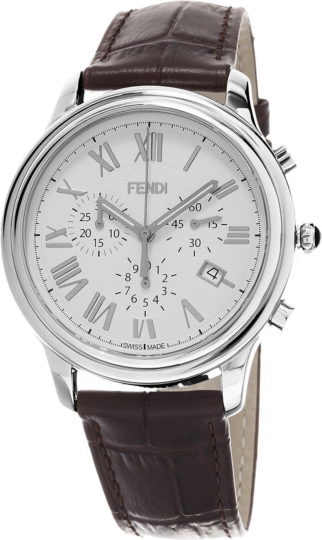 Fendi F253014021 Classico Reloj de Cuarzo Suizo con visualización analógica para Hombre
