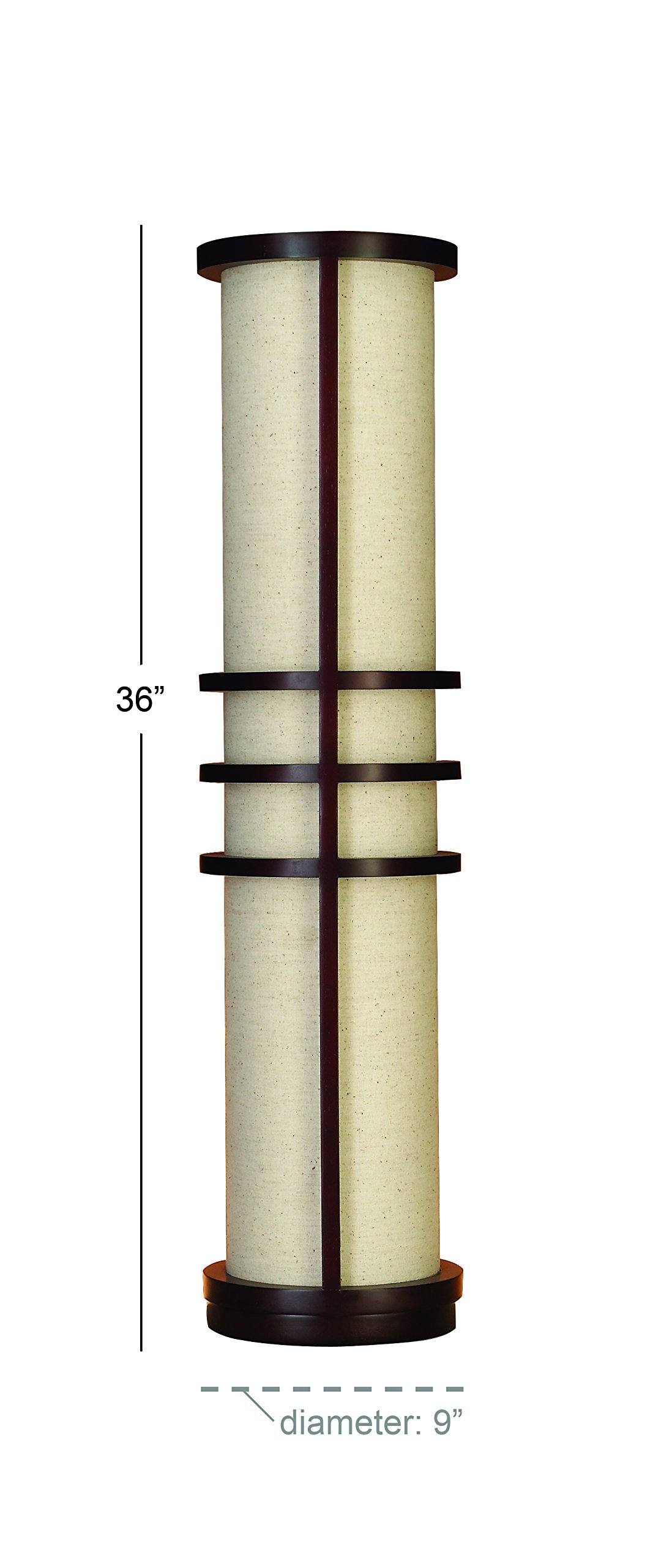 Deco 79 Wood Floor Lamp Made of Brown Wood by Deco 79 (Image #2)