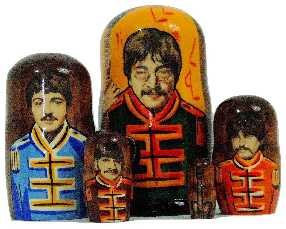 Beatles,Matryoshka, Nesting Doll