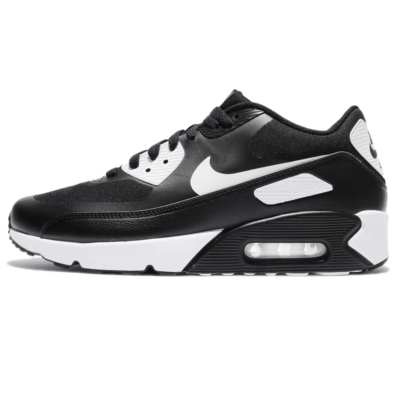 e6fe144647933 NIKE Men's Air Max 90 Ultra 2.0 Essential, Black/White-White, 9 M US