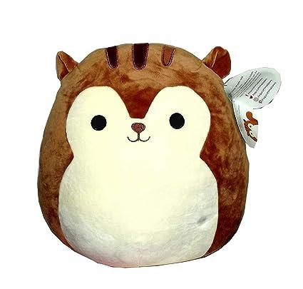 Amazon Com Squishmallow Original Kellytoy Sawyer The Squirrel 12
