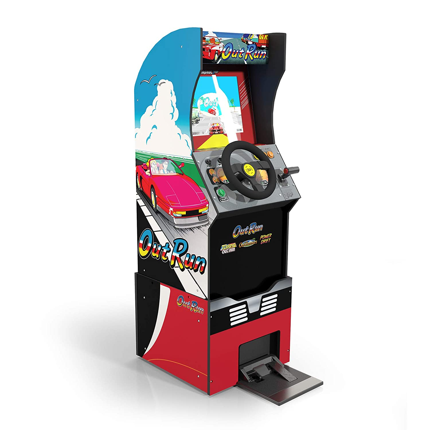 Arcade1Up Outrun Stand Up Edition and Light Up Marquee