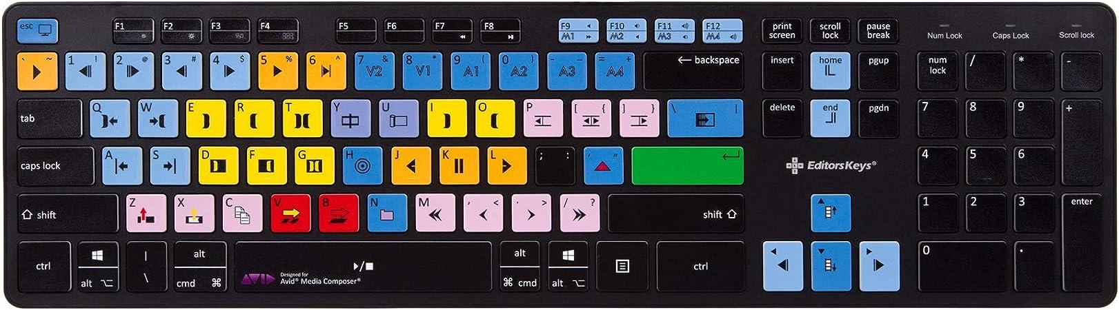 Teclado inalámbrico Avid Media Composer | Teclado de acceso ...