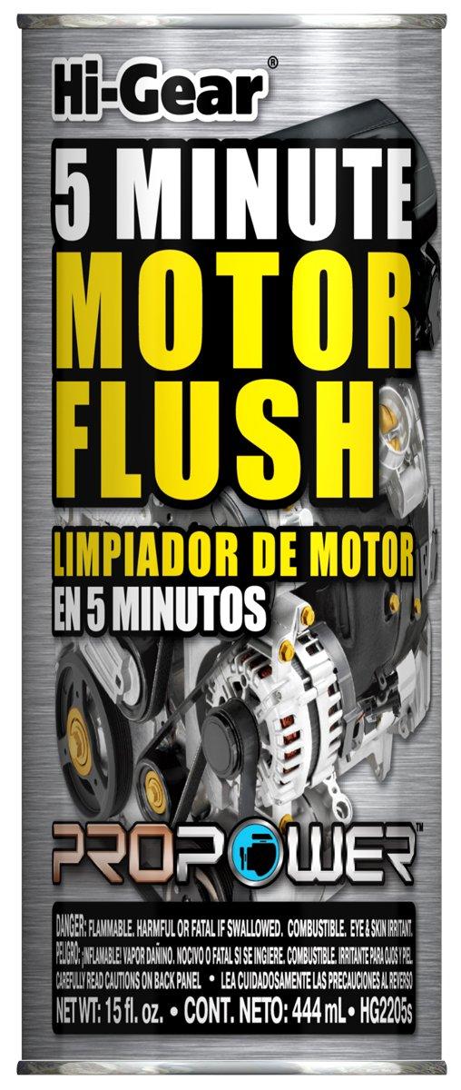 HI-Gear HG2205s 5 Minute Motor Flush, 15 fl. oz.