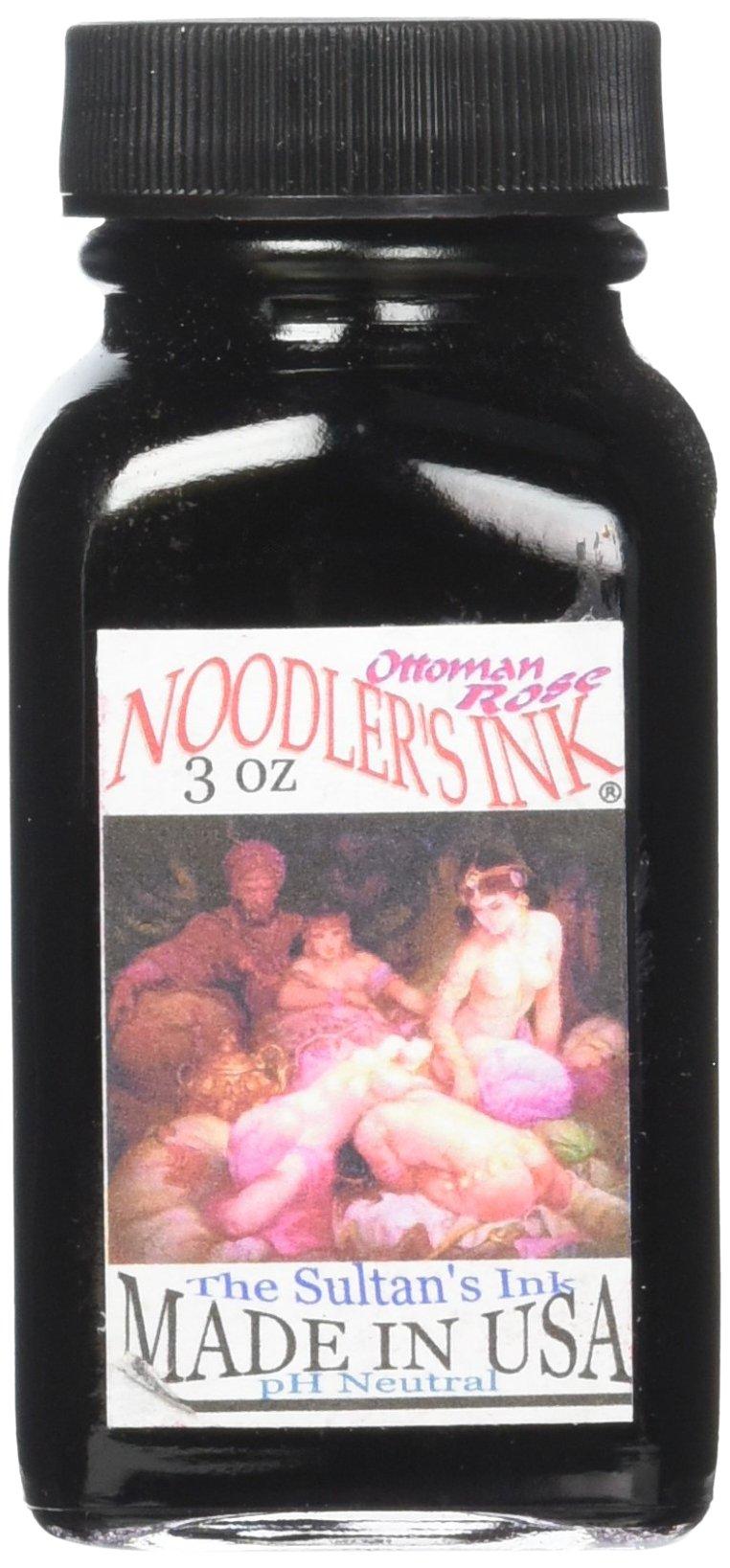 Noodler's Ottoman Rose Bottled Ink, 3 Oz