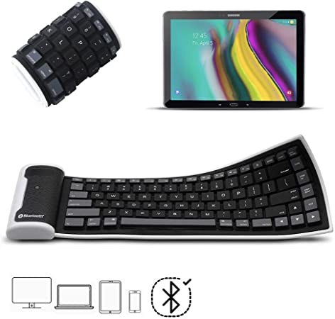 X-Tab - Teclado Bluetooth para Tablet Huawei MediaPad T5 Mini ...