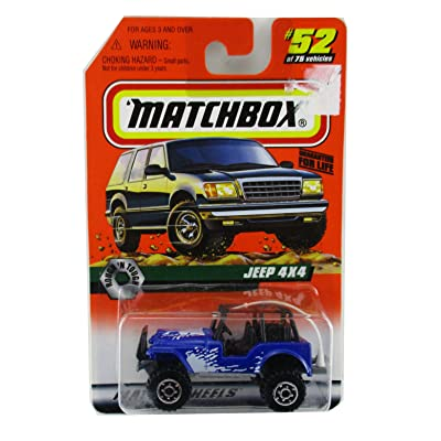 1997 Matchbox Jeep 4X4 #52 of 75 Vehicles: Toys & Games