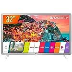 "Smart TV LED 32"", LG, 32LK610BPSA, HD HDR Ativo Upscaler HD webOS 4.0 Virtual Surround Plus, Branco"