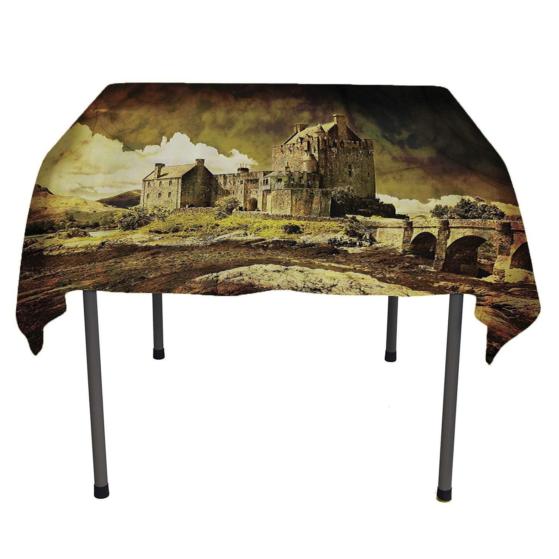 Wondrous Amazon Com Medieval Decor Collection Table Clothsold Monk Interior Design Ideas Ghosoteloinfo