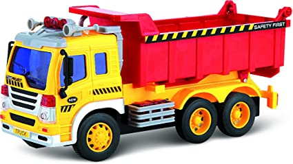 Dumper .. Toy Trucks for Toddlers Think Gizmos Friction Toys for Boys /& Girls