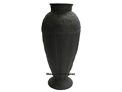 Amazon Wedgwood Doric Ivy 7 Vase Black 8222 Home Kitchen