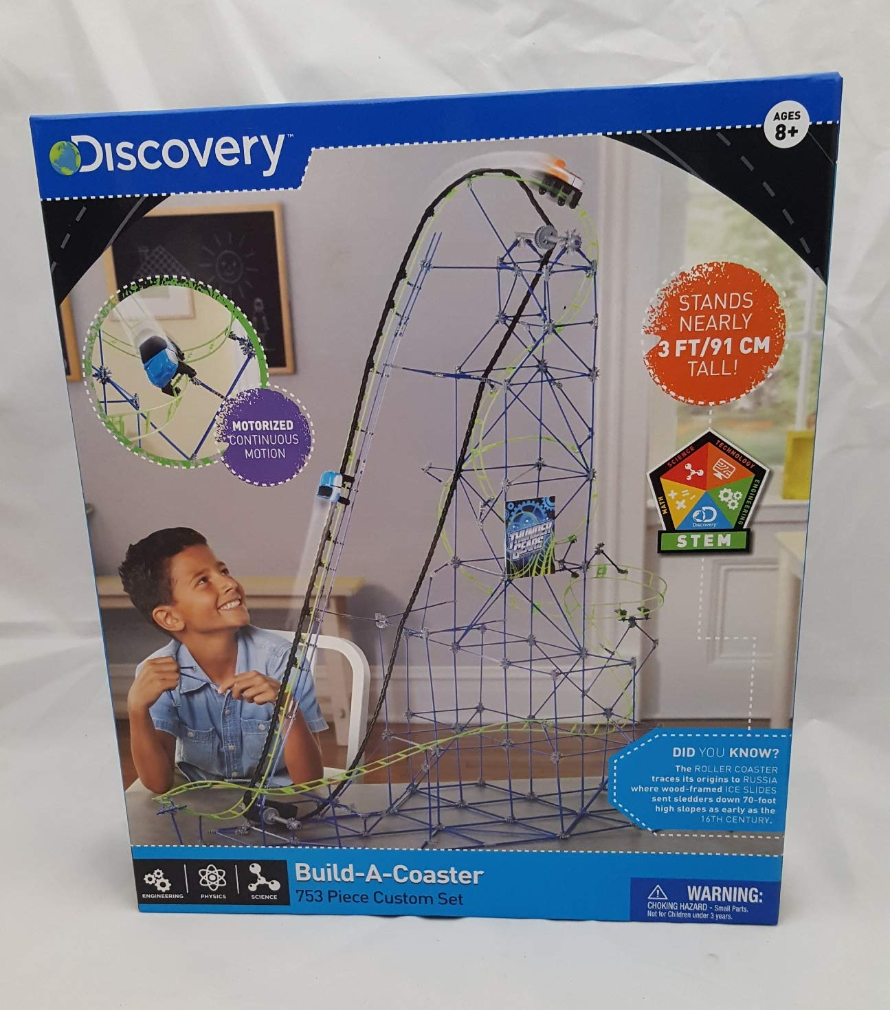 Discovery Build-A-Coaster Discovery Communications