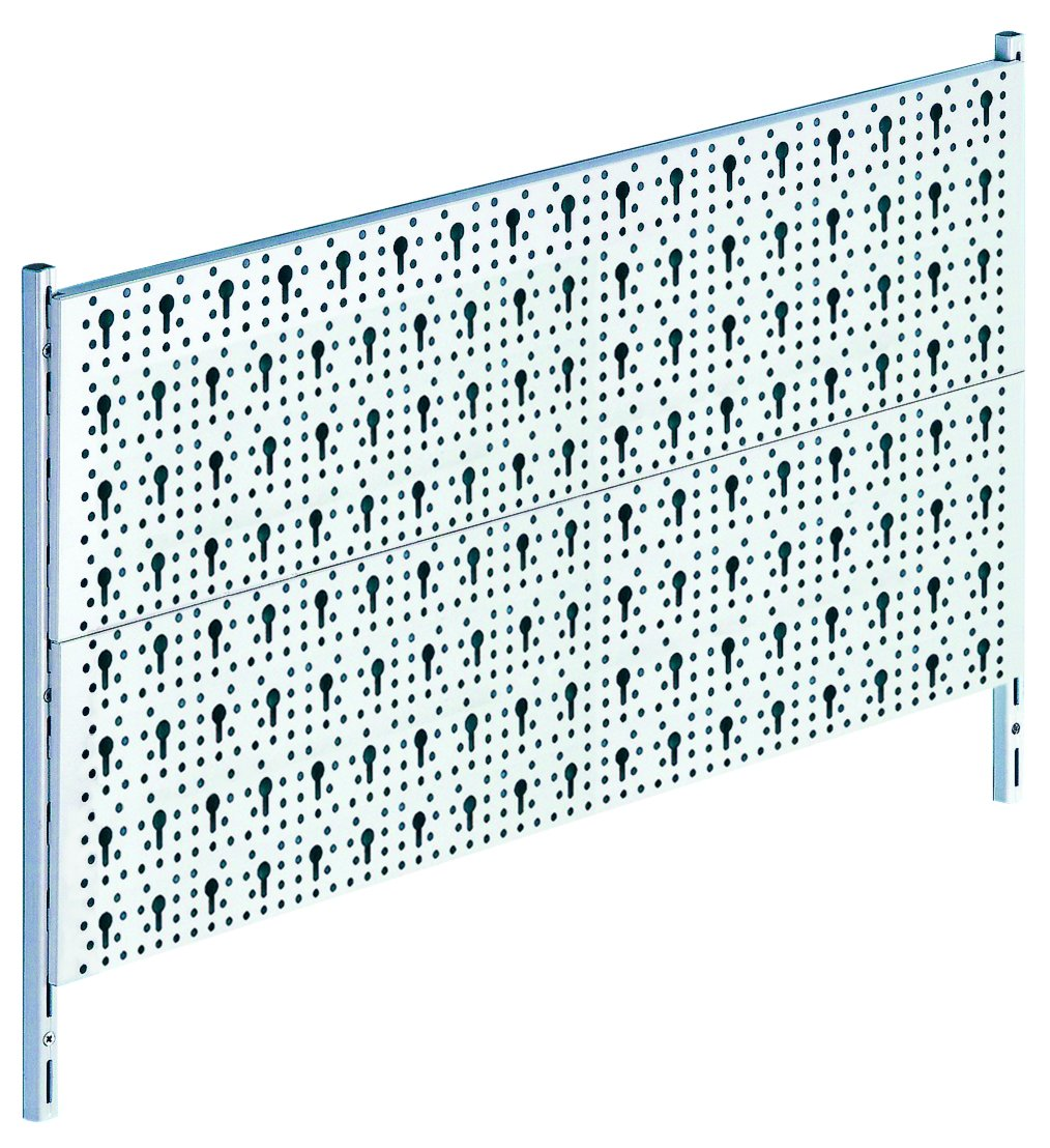 Element System 11300-00005 peg-Board Made of Metal/Basic DIY Tool Set/Screws and Wall Plugs Included/White DIY Element System