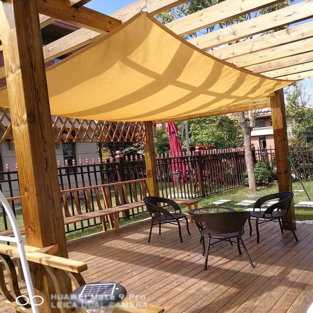 XLCZ Vela de Sombra/Protector Solar Vela de Sombra / 90% UV toldo de Sombra, Tela de Sombra, Beige, para balcón jardín Dosel Cubierta de Planta de Invernadero cochera: Amazon.es: Hogar
