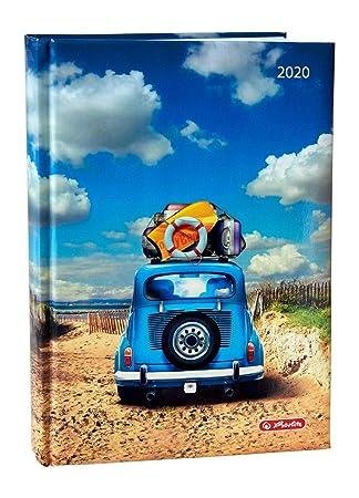 Herlitz Strandauto - Agenda 2020 (A5), diseño de coche de ...