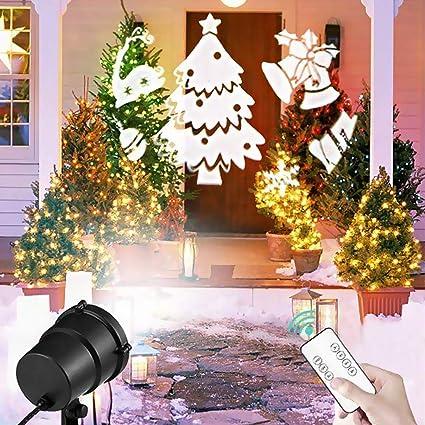 Night Lights Shop For Cheap Christmas Led Projector Light Xmas Animation Led Projector Lights 10 Patterns