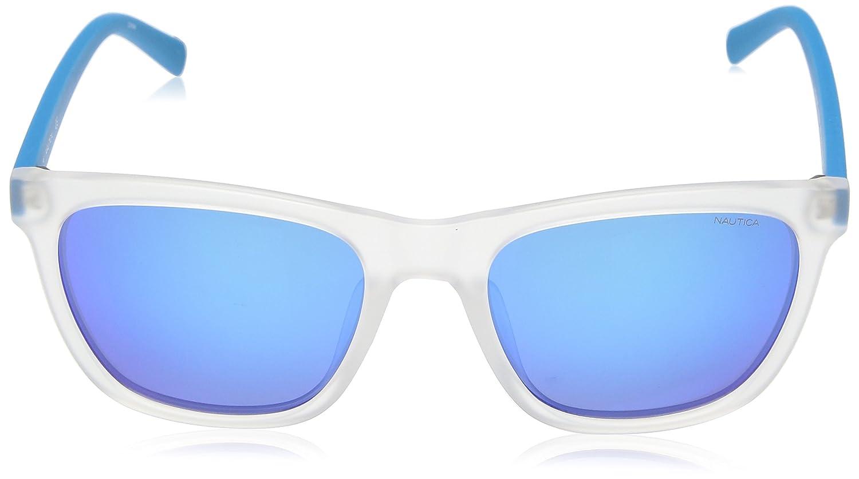 Nautica N3629Sp 939 56, Gafas de Sol para Hombre, Crystal/Matte Bluee: Amazon.es: Ropa y accesorios