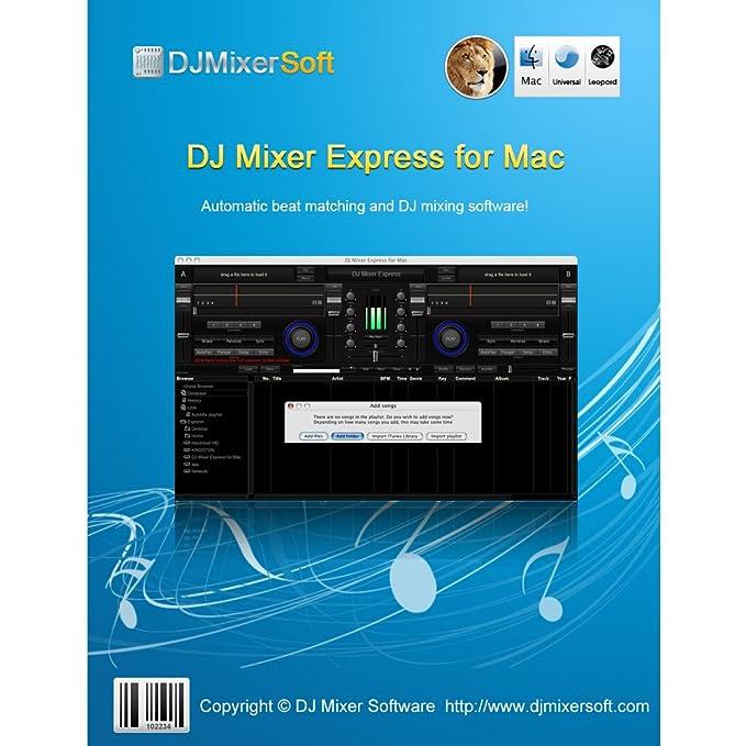 Amazon com: DJ Mixer Express for Mac [Download]: Software