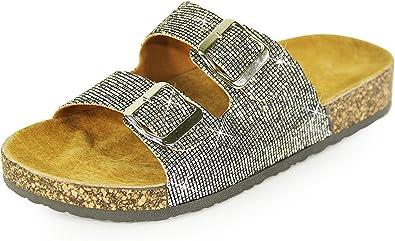 H2K Slide Sandals For Women