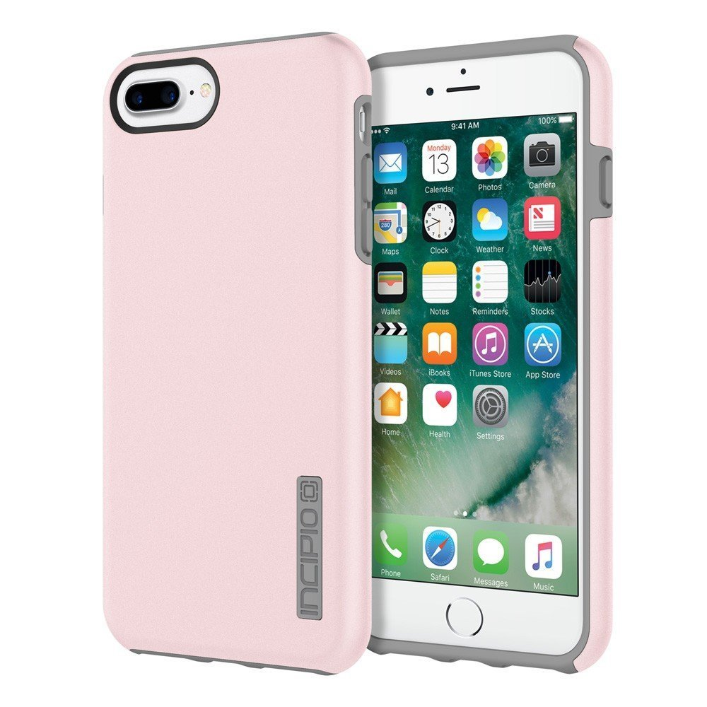 pretty nice 39955 2078e Incipio DualPro Case Original Dual Layer Protection for Apple iPhone 7 -  Iridescent Rose Quartz/Gray
