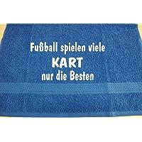 Fußball spielen viele, Kart nur die Besten; Handtuch Sport