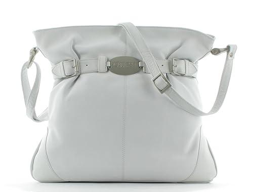Calypso Handtasche shoulder bag Damen 5122 Weiß