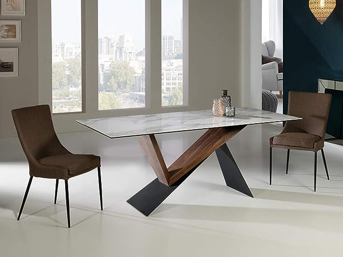 Schuller - Tavolo da pranzo moderno - Noa (180 x 90 ...