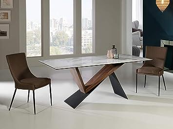 Schuller - Mesa de Comedor Moderna - Noa (180x90): Amazon.es: Hogar