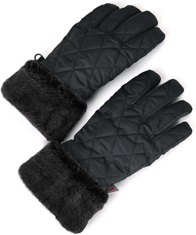 accsa Women Windproof Snow 3M Thinsulate Ski Gloves