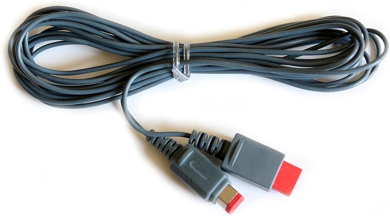 Wii Wii U Sensor Bar Extension Cable 30 Foot Briteley