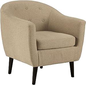 "Signature Design by Ashley Accent Chair, 30.00"" W X 28.50"" D X31.50 H, Khaki"
