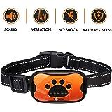 LOVATIC Dog Bark Collar – No Shock Vibration and Sound Humane Training Device for Small Medium Large Dogs – 7 Levels Sensitivity Adjustment – Best No Bark Control Collar