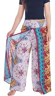 dbebcea19fa2 Lannaclothesdesign Womens Wide Leg Trousers Palazzo Pants S M L XL Sizes