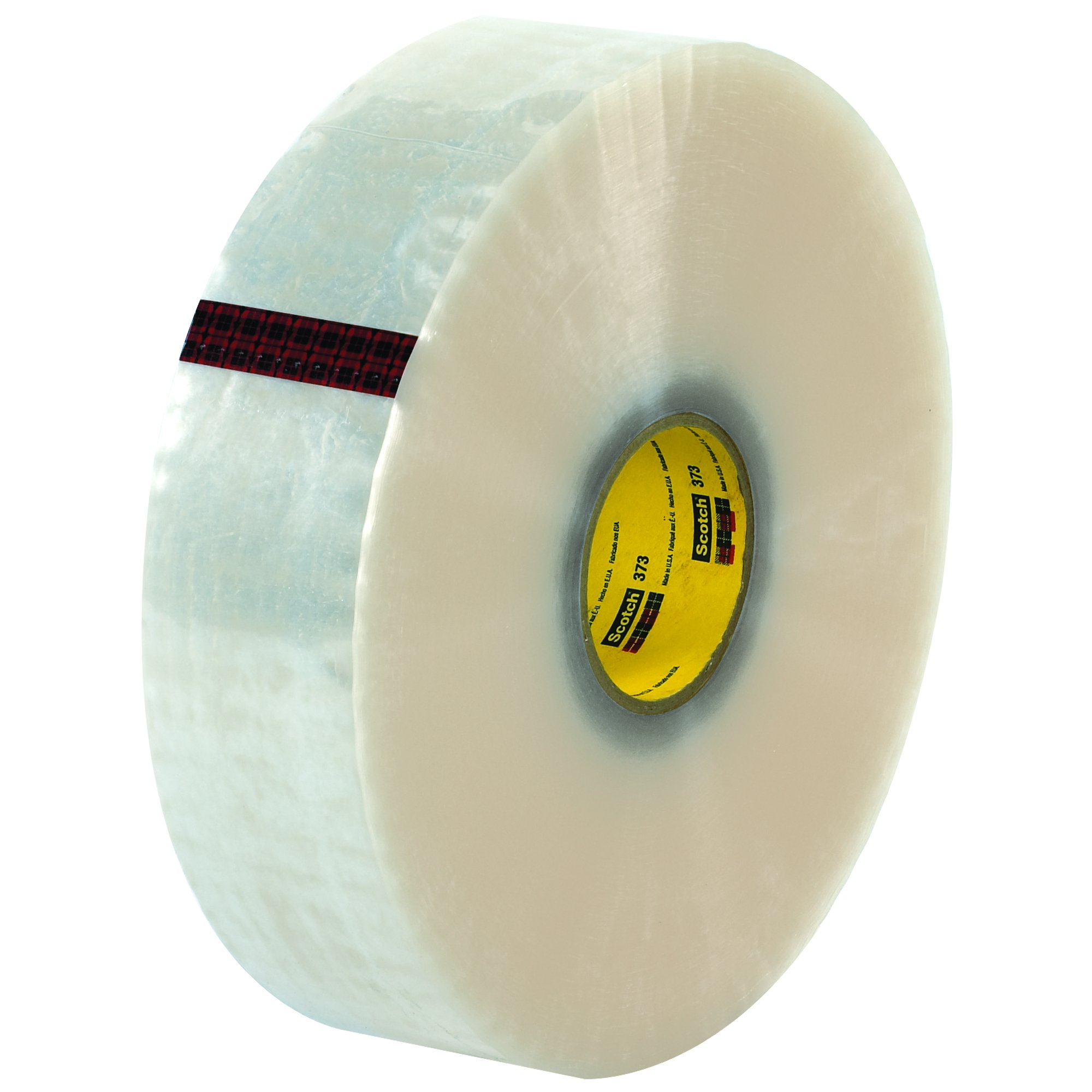Ship Now Supply SNT9033373 3M 373 Carton Sealing Tape, 2.5 Mil, 3'' x 1000 yd., Clear (Pack of 4)