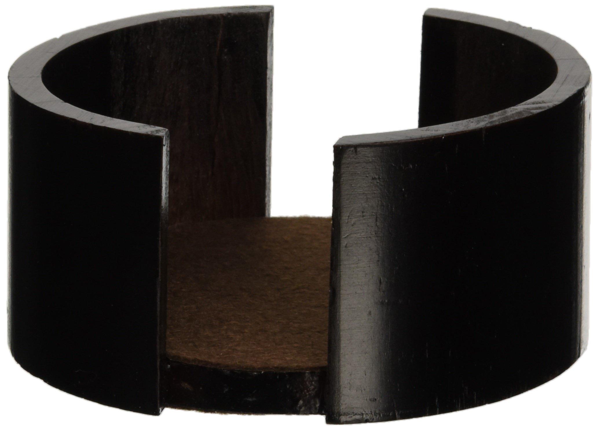 Thirstystone Circular Coaster Holder, Walnut