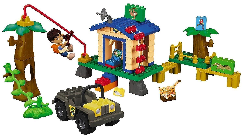 Amazon Mega Bloks Diegos Animal Rescue Center Toys Games