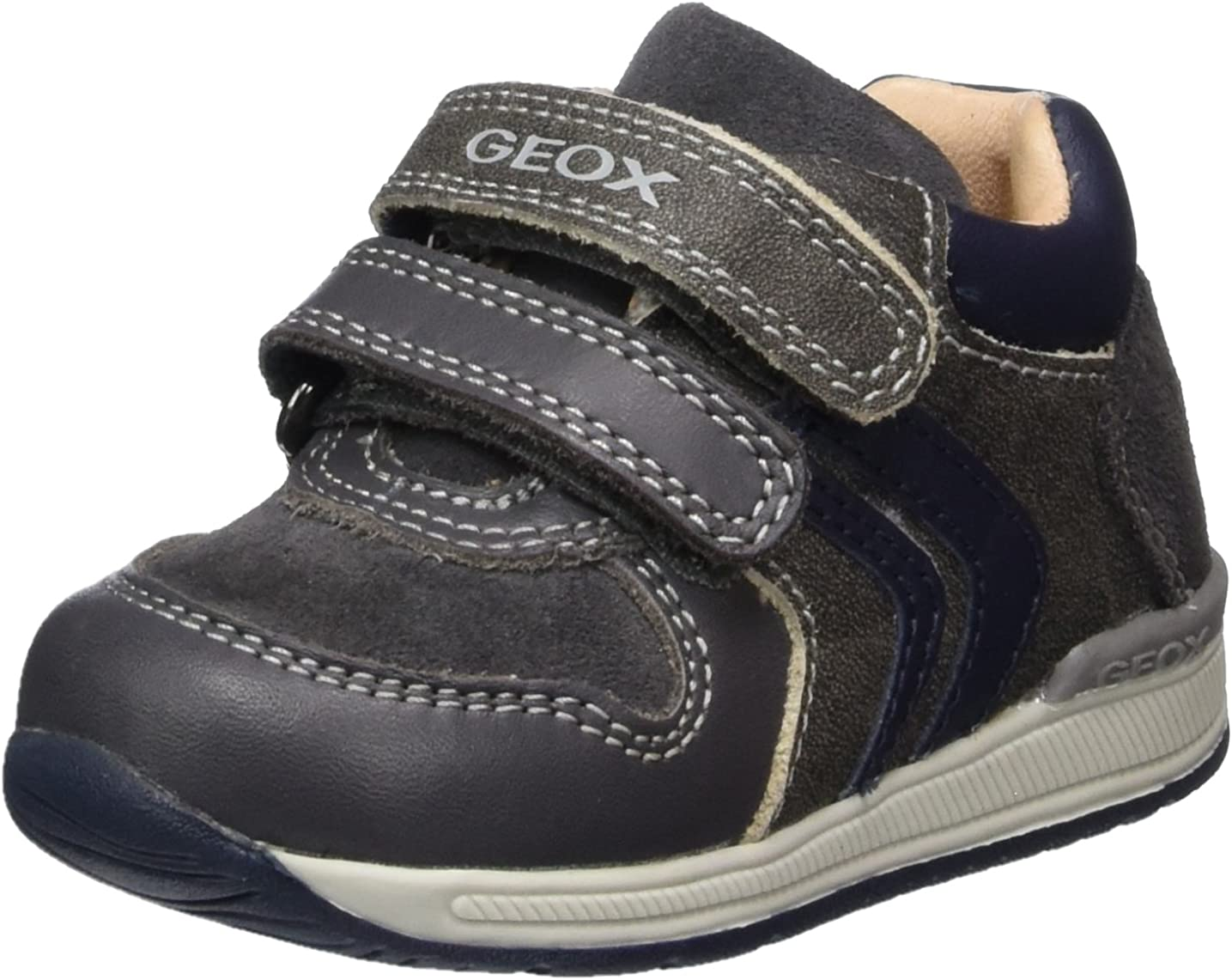 encuesta pausa Labor  Amazon.com | Geox Boy's Walking Baby Shoes Low-Top Sneakers | Sneakers