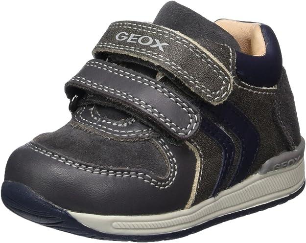 Geox Mens B Rishon Boy a First Walker Shoe