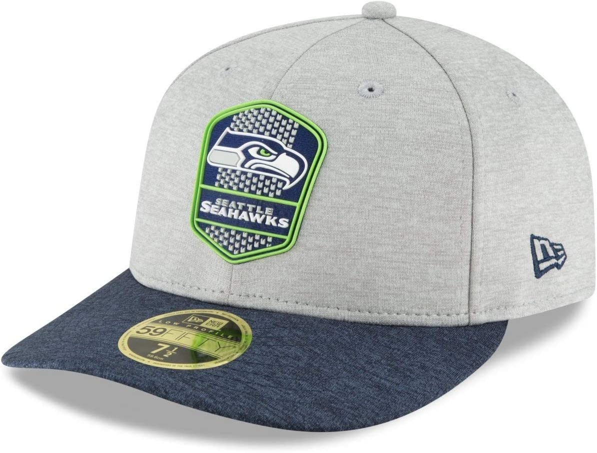 New Era LP 59Fifty Cap Sideline Away Seattle Seahawks
