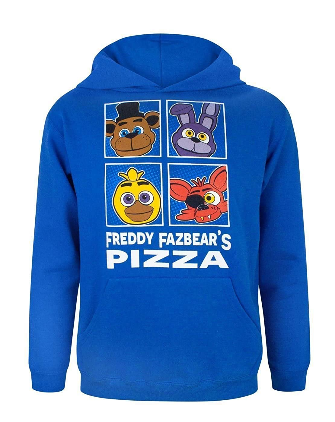 Five Nights At Freddy's, felpa con cappuccio per ragazzi Five Nights At Freddy's Fashion UK