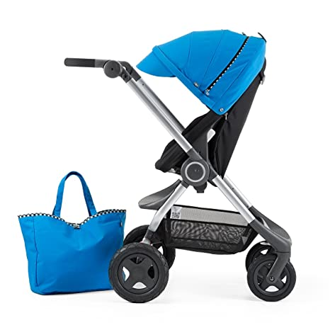 Stokke - Kit de estilo scoot racing range carreras azul