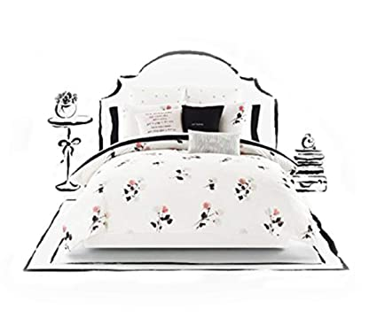 Amazon Com Kate Spade Willow Court Twin Xl Comforter Sham Set Home