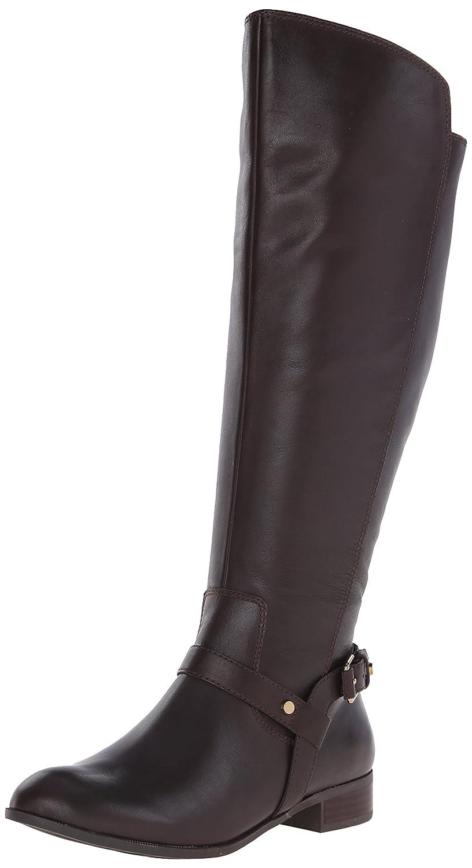 Amazon.com | Anne Klein Women's Kahlan Wide Calf Leather Riding ...