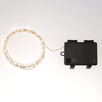 Rtgs Micro Led 30 Super Bright Warm White Color Indoor And Outdoor String Lights Battery Operated